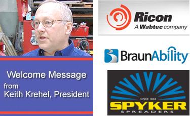 Ricon, BraunAbility, Spyker Spreaders